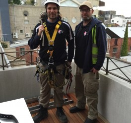 David's Abseiling Job in Richmond